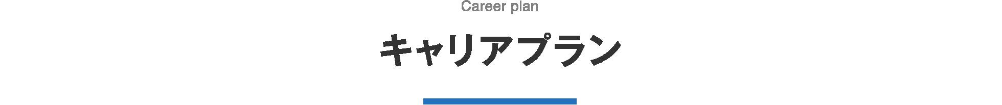 キャリアプラン Career plan